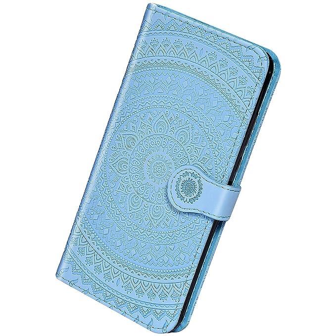 Saceebe Compatibile con iPhone XS Max Custodia pelle Cover a libro