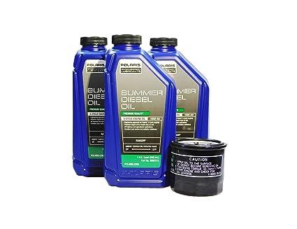 Polaris Ranger Diesel >> Amazon Com Polaris Ranger Diesel Hst Oem 15w 40 Summer