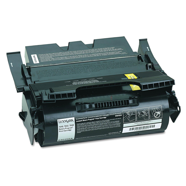 Lexmark Return Program Print Cartridge -Black -Laser -6000 Page -1 Each 64015SA Printer & Plotter Supplies