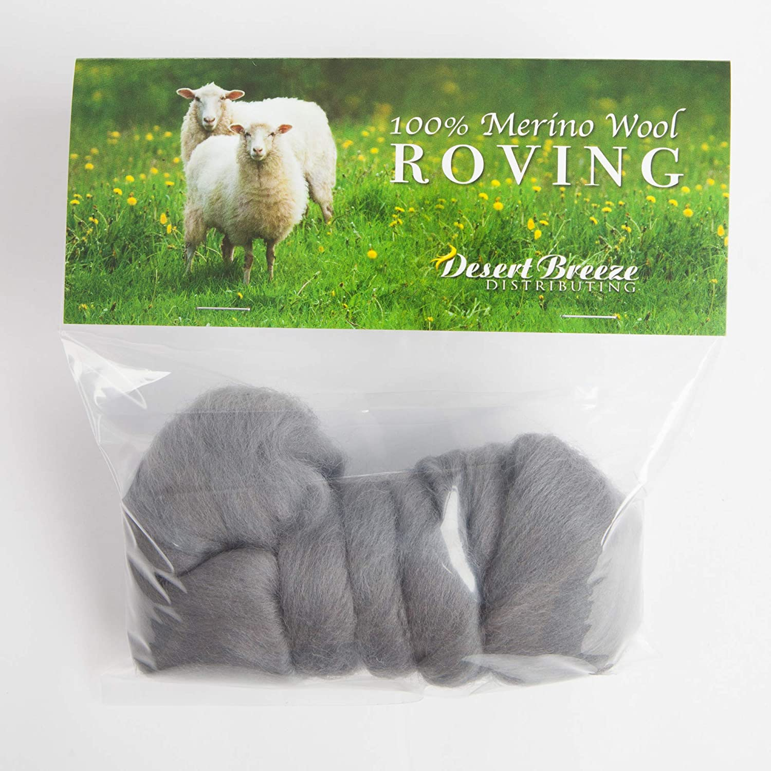 Premium Combed Top 21 Micron 100/% Pure Wool Color Spice Merino Wool Roving Perfect for Felting Projects Made in The UK