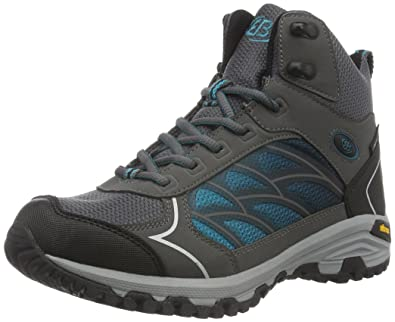 Bruetting Valley High, Damen Trekking- & Wanderstiefel, Grau (Grau/Tuerkis), 40 EU (7 Damen UK)