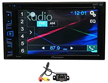 "Package: Pioneer AVH-280BT 6.2"" 2-Din DVD/CD/MP3"