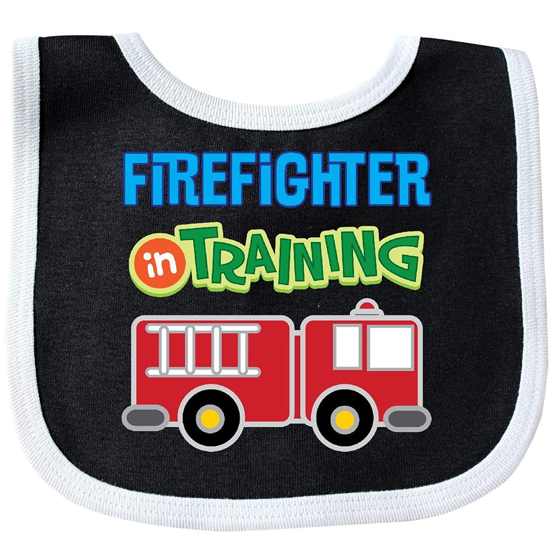 Future Firefighter Kids Fireman Baby Bib Degrema rizhaobaifakang