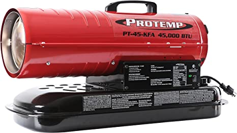 Pro-Temp PT-70T-KFA 70,000 BTU Forced Air Kerosene Heater