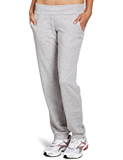 adidas Damen Hose ESS Jersey Pants, Grau, M, 4055343992884