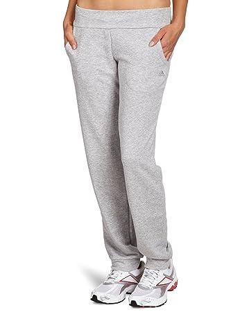 adidas Damen Hose Essentials Cuffed, Medium Grey Heather, L, X21683 ... 028295a288