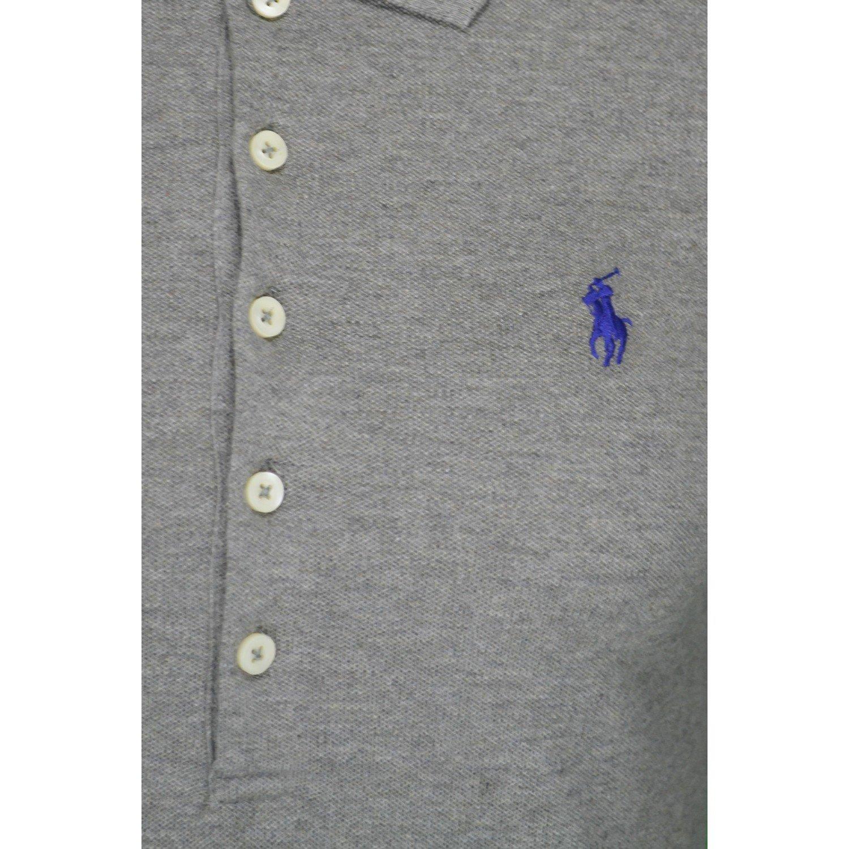 f881ba04238 Ralph Lauren Polo Manches Longues Julie Gris pour Femme  Amazon.fr   Vêtements et accessoires