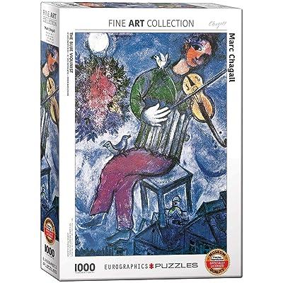 EuroGraphics Marc Chagall Le Violoniste Bleu Puzzle (1000 Piece): Toys & Games