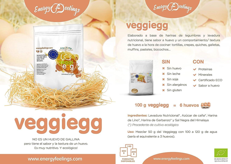 Energy Feelings Veggiegg ecológico - 1 Kg | huevo vegano sin ...