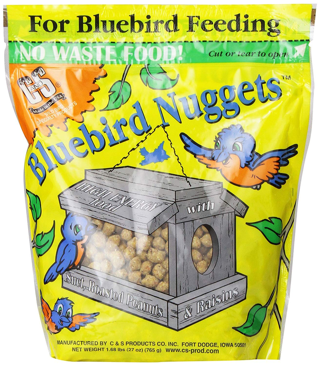 C & S Products Bluebird Nuggets, Pack of 6 (Pack of 12)