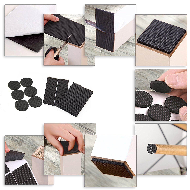 Amazon ANDYWE Lightweight Anti slip Rubber Pads Heavy Duty