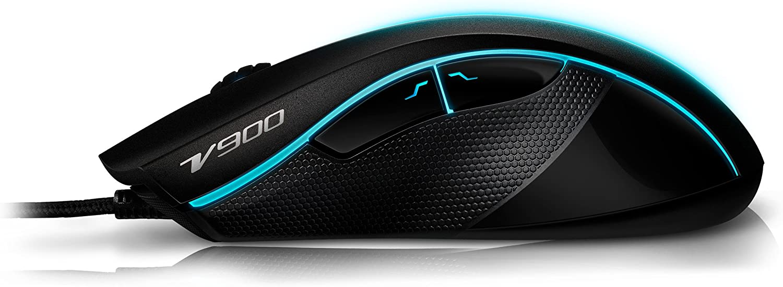 Rapoo Vpro V900 Laser Gaming Maus Schwarz Computer Zubehör