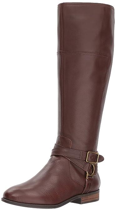 2905dbea577 Amazon.com  Marc Fisher Women s Aliza Knee High Boot Brown 8.5 ...