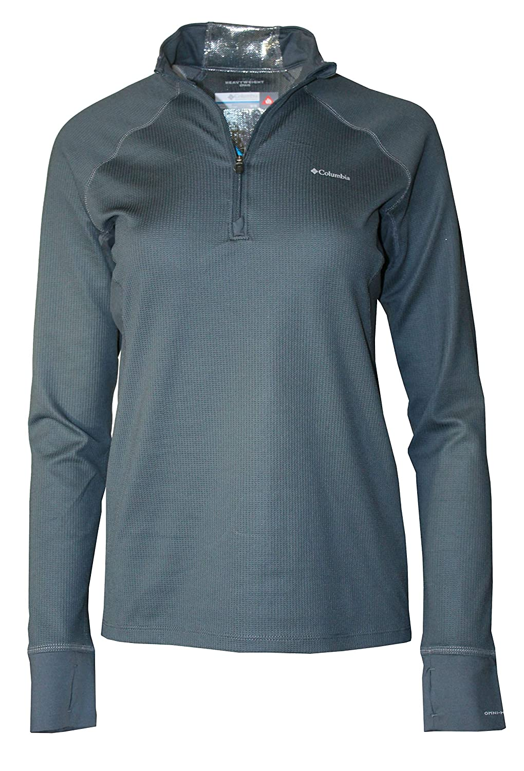 Columbia Womens Heavyweight Half Zip Baselayer Omni Heat Top