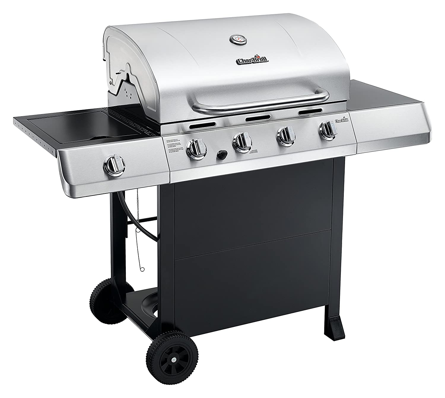 amazon com char broil classic 4 burner gas grill with side