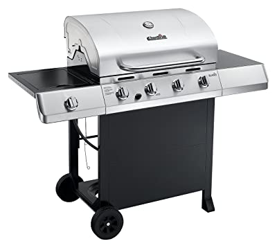 Char-Broil Classic 4-Burner Gas Grill with Side Burner