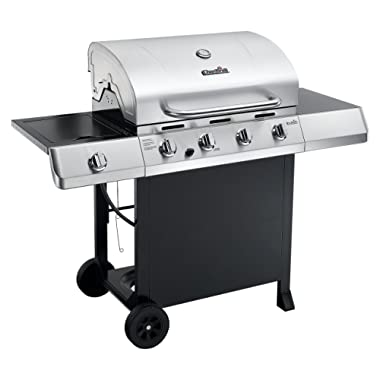 Char-Broil CHARBROIL 463436215 Classic 4-Burner Gas Grill with Side Burner
