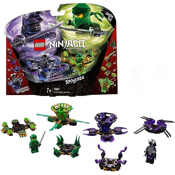 LEGO Ninjago Spinjitzu Lloyd vs. Garmadon - Peonzas de ...
