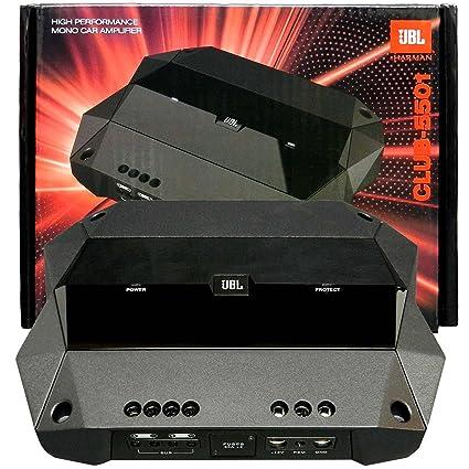 JBL CLUB-5501 Monoblock Amplifier 1300W Peak (650W RMS) Club Series Class D