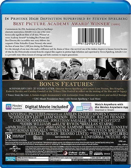 New Schindler/'s List Movie Fabric Poster 25th Anniversary Steven Spielberg X-50