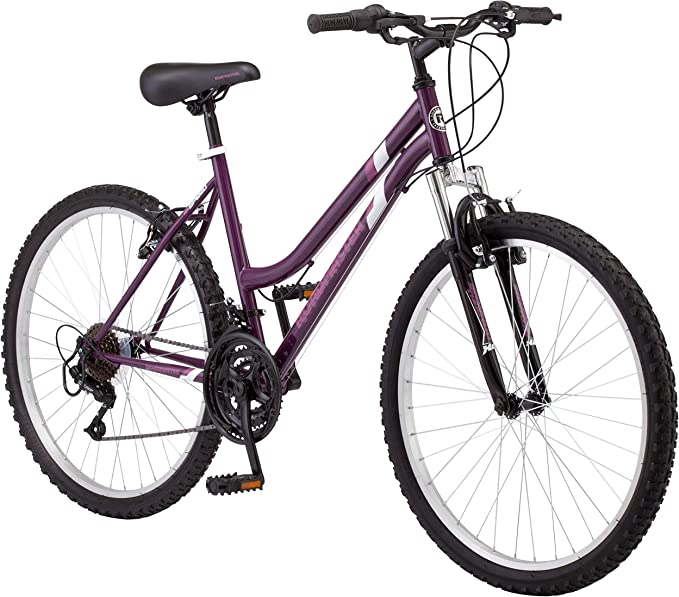 "ROADMASTER R4047WMJ 26"" Roadmaster Granite Peak Women's Bike with Freebie (Purple): Sports & Outdoors - Amazon.com"