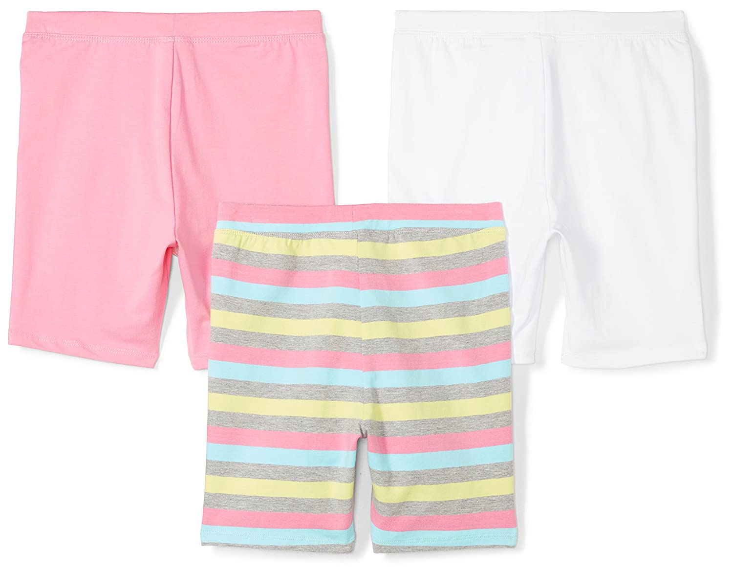 Spotted Zebra Girls Toddler /& Kids 3-Pack Bike Shorts Brand