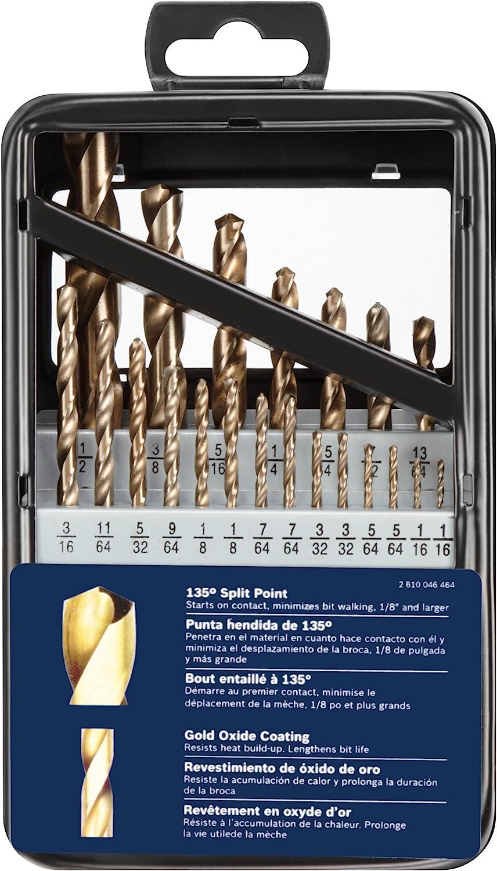 Gold Oxide Drill Bit Set Bosch GO21 21 Pc
