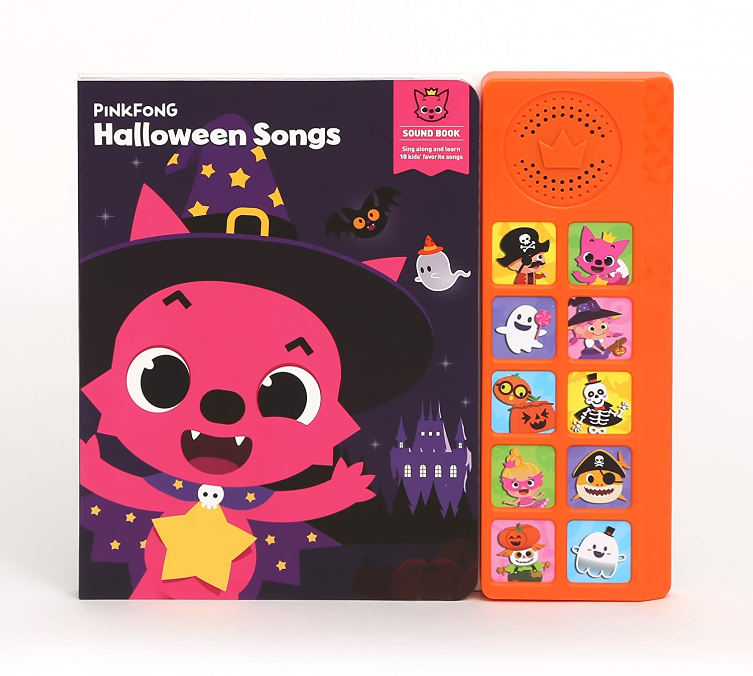 Amazon.com: Pinkfong Children's Halloween Songs Sound Book, Purple ...