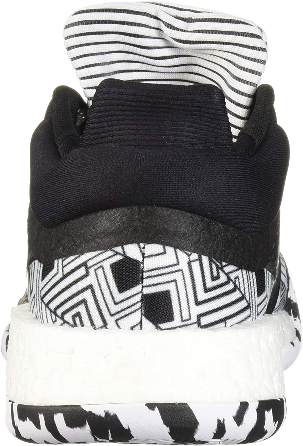 Adidas Marquee Boost Low Chaussures Basses pour Homme Noir/Blanc