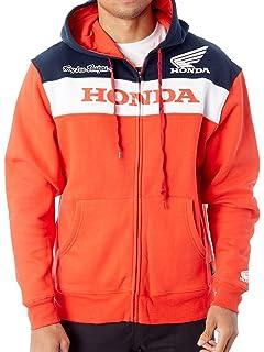 Troy Lee Designs Mens Honda Muscle Milk Team Jacket 3X-Large, White//Red
