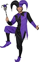 Smiffy's Men's Medieval Jester Costume Top