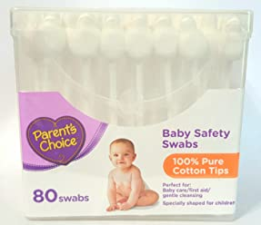 Parents Choice Baby Safety Swabs, ...