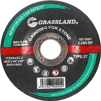 Aluminum Grinding Wheel Grinding Disc T27 - 10 Pack 4-1//2 x 1//4 x 7//8