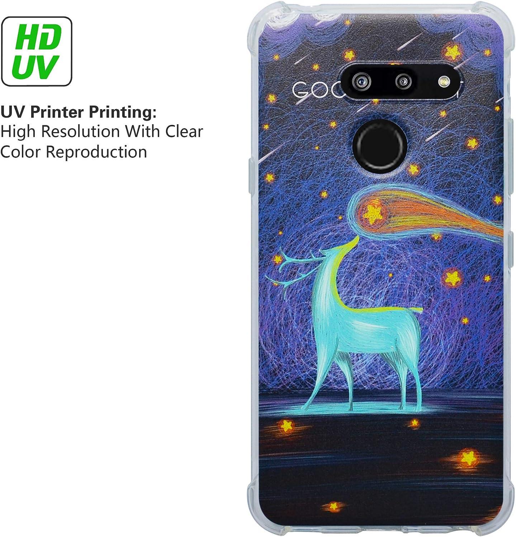 HHDY LG G8 ThinQ Funda, Pintura Ultrafina Suave TPU Silicona ...