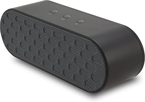 iLive iSB235 Portable Wireless Bluetooth Speaker with Changeable Rubberized Covers