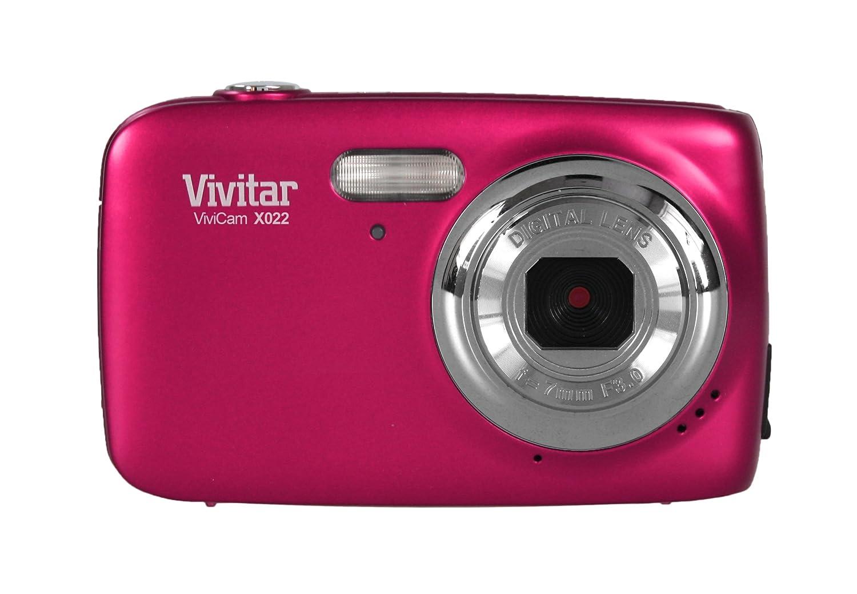 VIVITAR VX022-PNK 10.1 Megapixel VX022 Digital Camera (Pink) VX022 PINK