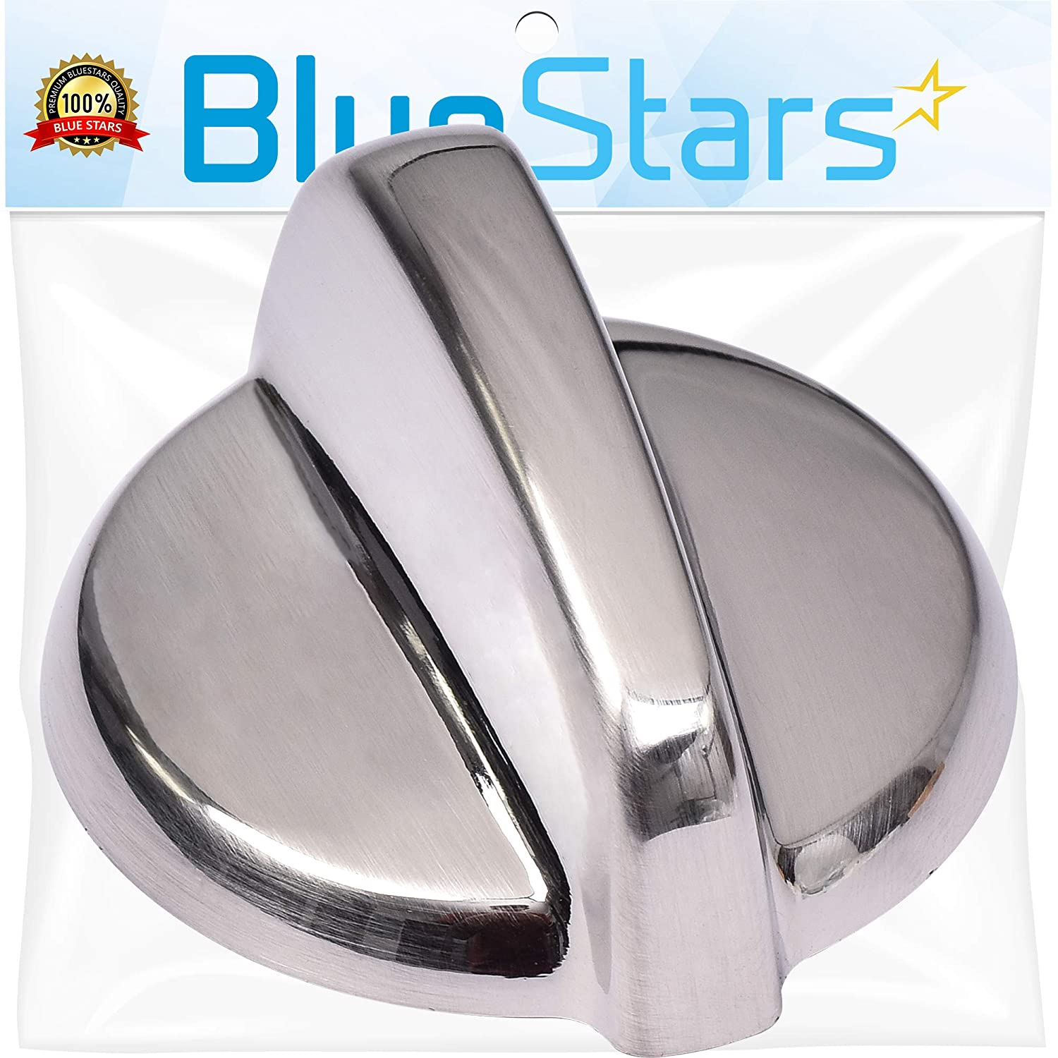 Ultra Durable WB03T10325 Range METAL Knob Replacement Part by Blue Stars – Exact Fit For GE Ranges - Replacement AP5690210 PS3510510