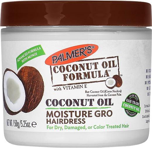 علبة مصفف الشعر بزيت جوز الهند ينمِّي الرطوبة 5.25 اونصة 155 مل من بالميرز