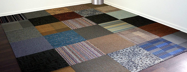 Versatile assorted commercial carpet tile 24 commercial tiles versatile assorted commercial carpet tile 24 commercial tiles 10case 40sqft highest quality household carpeting amazon baanklon Gallery
