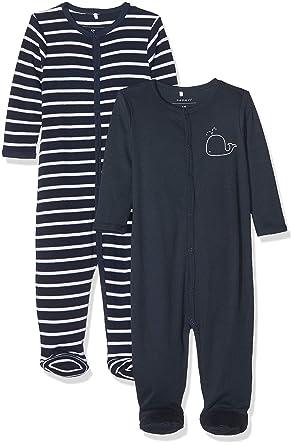 d2994a95e253e Name It Grenouillère Bébé garçon (Lot de 2)  Amazon.fr  Vêtements et  accessoires