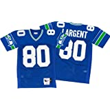 eee334cb56e Mitchell   Ness Steve Largent Seattle Seahawks Authentic 1985 Blue NFL  Jersey