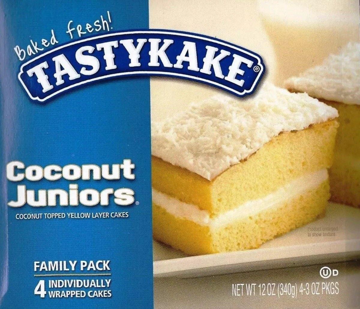 TastyKake: Coconut Juniors (3 Boxes) by Tastykake