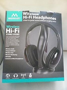 Merkury inalámbrico de alta fidelidad (Hi-Fi) auriculares: Amazon.es: Electrónica