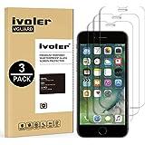 iVoler [3 Pack] Pellicola Vetro Temperato Apple iPhone 8/7 / 6S / 6 [Garanzia a Vita], Pellicola Protettiva, Protezione per Schermo