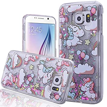 coque paillettes galaxy s6