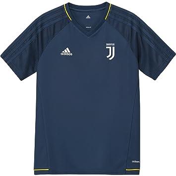 Adidas Juve TRG Jsyy Camiseta Entrenamiento Juventus 2017-2018, Niños, Azul (Azunoc/Blanco), 152: Amazon.es: Deportes y aire libre