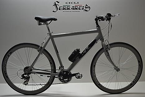 Cicli Ferrareis Bicicleta híbrida Bicicleta Correr Bicicleta Gris ...