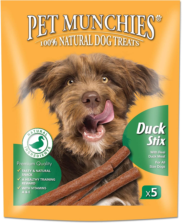 Pet Munchies Duck Stix, 50 g, Pack of 10