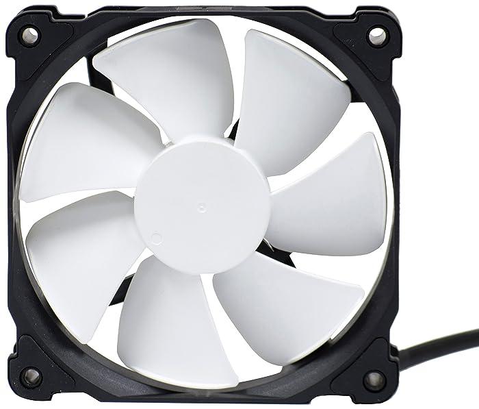 Phanteks 120mm, PWM, High Static Pressure Radiator Retail Cooling Fan PH-F120MP_BK_PWM