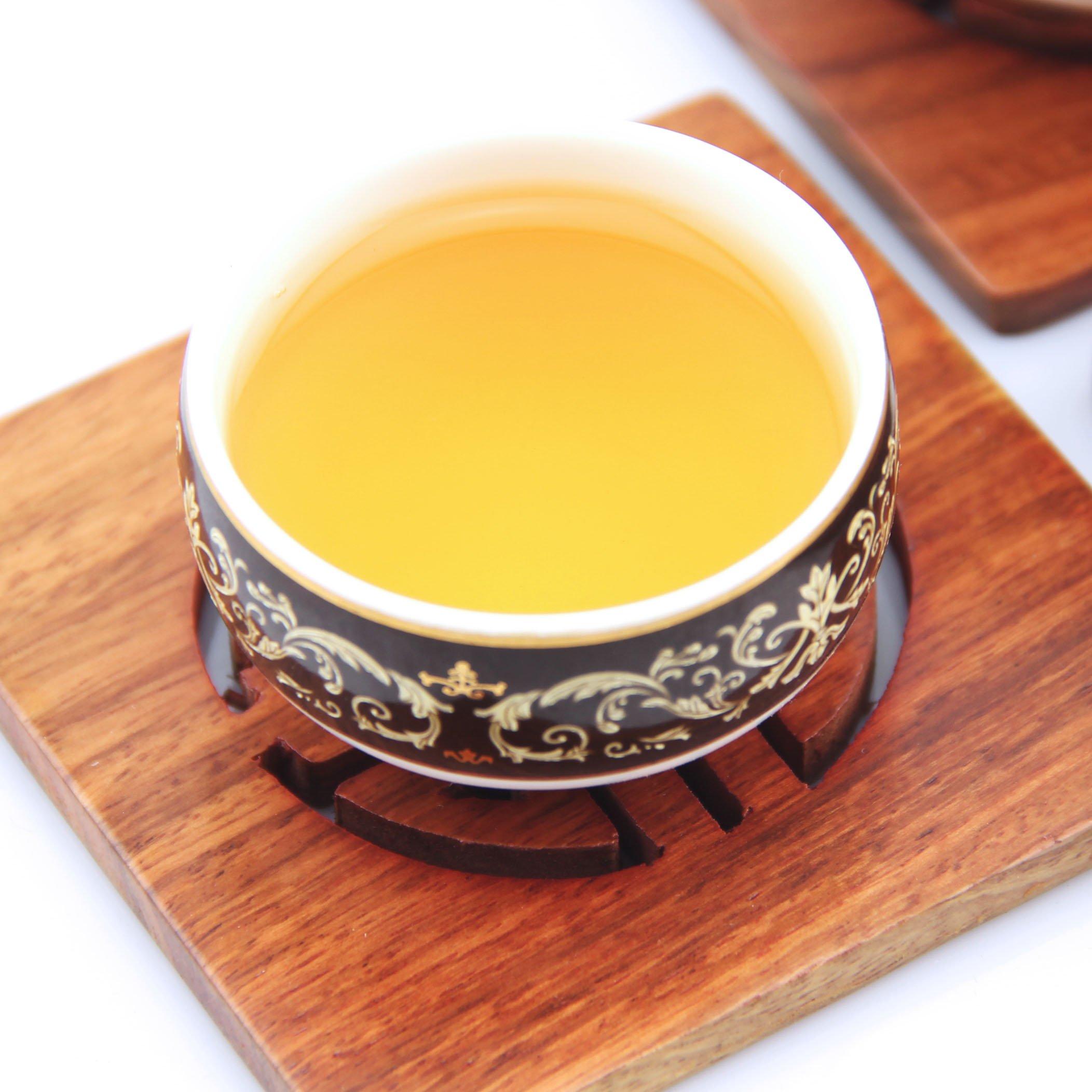 GOARTEA 300g (10.58 oz) 2014 Year Remote Mountain Wild FuDing Supreme Bai Mu Dan King White Peony Cake White Tea by GOARTEA (Image #4)